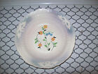 Antique 1935 Crown Ivory China Vegetable Bowl 1135 White With Flowers