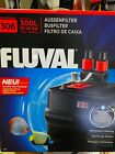 NEW FLUVAL 306 AQUARIUM CANISTER FILTER 70 GAL A-212