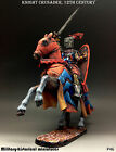 Tin soldiers 54 mm Knight Crusader, 12th century Hand painted