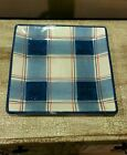 Certified International Americana Plaid Serving Platter Pamela Gladding 13