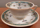 Co. SENTA Bavaria art deco floral urn pattern cup and saucer