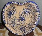 P R STORIE POTTERY CO MARSHALL,TX POTTERY BOWL HEART SHAPED 8