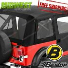54599 15 Bestop Supertop Classic in Black Fits 1976 1995 Jeep Wrangler YJ CJ7