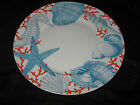 222 FIFTH COASTAL LIFE - GRENADA - DINNER PLATES - SET OF 4 - NEW