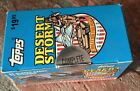 1991 Topps Desert Storm Card Complete Factory Sealed Set US Military