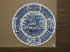 1 Dinner Plate Blue Fair Winds Alfred Meakin Staffordshire England ~5DP