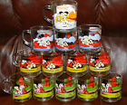 13 Vintage Garfield & Odie 1978 MCDONALD'S Glass Mugs Collectible cups Jim Davis