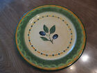 Pfaltzgraff Everyday Salad Plate, Tuscan Olives Pattern, 8 1/4