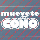 Muevete Coo Decal - Spanish Slang Import Car Truck Funny Sticker Jdm Kdm