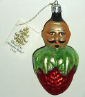 CHRISTOPHER RADKO VINTAGE CHRISTMAS ORNAMENT PIERRE LE BERRY 1990 w ORIGINAL TAG