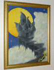 DUNGEONS & DRAGONS STYLE VINTAGE FANTASY ART PAINTING VENGERS CASTLE