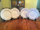 Lenox  Brookdale  Dinner Plates, Discontinued. set of 4 Great Cond