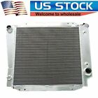 3 ROWS 3 CORES ALUMINUM RADIATOR FIT 68 69 FORD BRONCO WAGON ROADSTER 50L V8