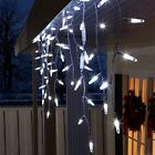 Lightshow 70 LED White Starry Nights Icicle Light String