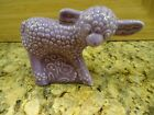 VINTAGE MOLD FIESTA HARLEQUIN ANIMAL LILAC LAVENDER LAMB ~NICE MOTHER'S DAY GIFT