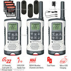 Motorola Talkabout Walkie Talkie 3 Pack 25 Mile Two Way Radios NOAA 22 Ch T260TP