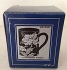 1979 FITZS & FLOYD CLOISONNE PEONY COFFEE CUP MUG JAPAN NEW OLD STOCK IN BOX