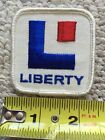 OLD VINTAGE GAS OIL POCKET GAS STATION SHIRT UNIFORM PATCH CAN SIGN Liberty Gas