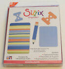 Sizzix Originals Die Cutting Template Clipboard  Holder Pencil Large New