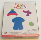 Sizzix Original Die Cutting Template Paper Doll Winter Dress Up Outfit Large New