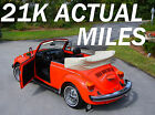 Volkswagen Beetle Classic 21K ACTUAL MILES 100 ORIGINAL 1979 vw super beetle convertible aaca 1 st place nearly 2 decades in vw museum