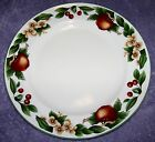 CITATION CADES COVE COLLECTION DINNER PLATES SET OF 4 APPLES, FLOWERS, CHERRY