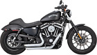 Vance  Hines Shortshots Staggered Exhaust System Chrome17229
