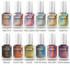 Color Club Lacquer Nail Polish 2013 Holographic Halo Hues Collection Set Of 12