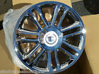 22 Cadillac Escalade Platinum 4 Wheels 5358 Chrome Rims GM OE Spec Premium 2014