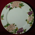 FITZ & FLOYD china CLOISONNE PEONY WHITE pattern DINNER PLATE 10-1/4