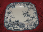222 FIFTH ADELAIDE - BLUE DINNER PLATES - SET OF 4 - NEW