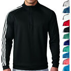 Adidas Golf 3 Stripes 1 4 Zip Pullover Mens 11 Colors