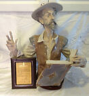 Large Retired Lladro Listen to Quixote Signed 115/750