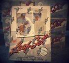 1990 Leaf Series 1 & 2 (I & II) Factory Sealed Box Lot ( 3 of each plus 1 more)