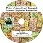 1904 History & Genealogy -Henry County Tennessee TN - Confederate Rosters Rolls
