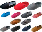 New baby infant toddler girls boys casual slip on canvas shoes size 4 10