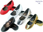 New baby toddler girls ballet casual flat slip on dress shoes