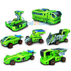 New 7 in 1 Rechargeable Solar Power Car Funny Disassembly Birthday Toy Kit