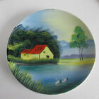 Vintage Hand Painted Japanese Hanging Plate, 8