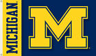 Michigan Wolverines 2 Sided 3 Ft X 5 Ft Flag W Grommets Double Sided