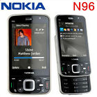 Original Nokia N96 Unlocked 3G WIFI GPS 5MP16GB Mobile Phones Free Shipping
