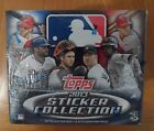 2013 TOPPS MLB STICKER COLLECTION, SEALED RETAIL BOX, 50 PACKS WITH 8 PER PACK