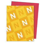 Neenah Paper Astrobrights Colored Card Stock 65 lb 8 1 2 x 11 Re Entry Red 250