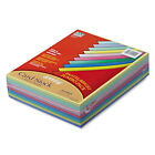 Pacon Array Card Stock 65 lb Letter Assorted Colors 250 Sheets Pack 101195
