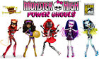 Monster High Power Ghouls Complete Set of 5 with SDCC 2013 Exclusive Webarella!!