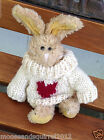 Boyds Collection LTD RETIRED The Archive Series Sweater Rabbit Poseable ADORABLE