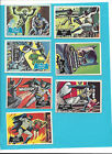 7 TOPPS Vintage BATMAN Trading Cards 1966-National Periodical Publications