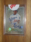 2013 Topps Five Star Yasiel Puig Rainbow Auto w used redemption - serial # 25