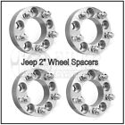 4 X 2 Thick Wheel Spacers 5x1143  1 2x20 Studs For Jeep Liberty Aluminum