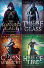 THE THRONE OF GLASS BOOK SERIES VOLUMES 1 3 PLUS THE PREQUEL ASSASSINS BLADE